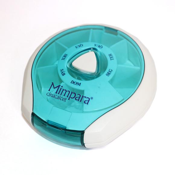Caixa de medicamentos automática MIMPARA.